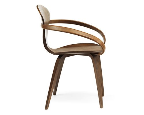 Cherner Armchair by Norman Cherner Armchairs, Plywood and Contemporary
