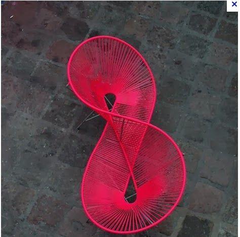original acapulco chair fuchsia ff e pinterest silla. Black Bedroom Furniture Sets. Home Design Ideas