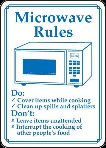 Pin By Lynn On Breakroom Sign Break Room Office Rules Office Kitchen Etiquette