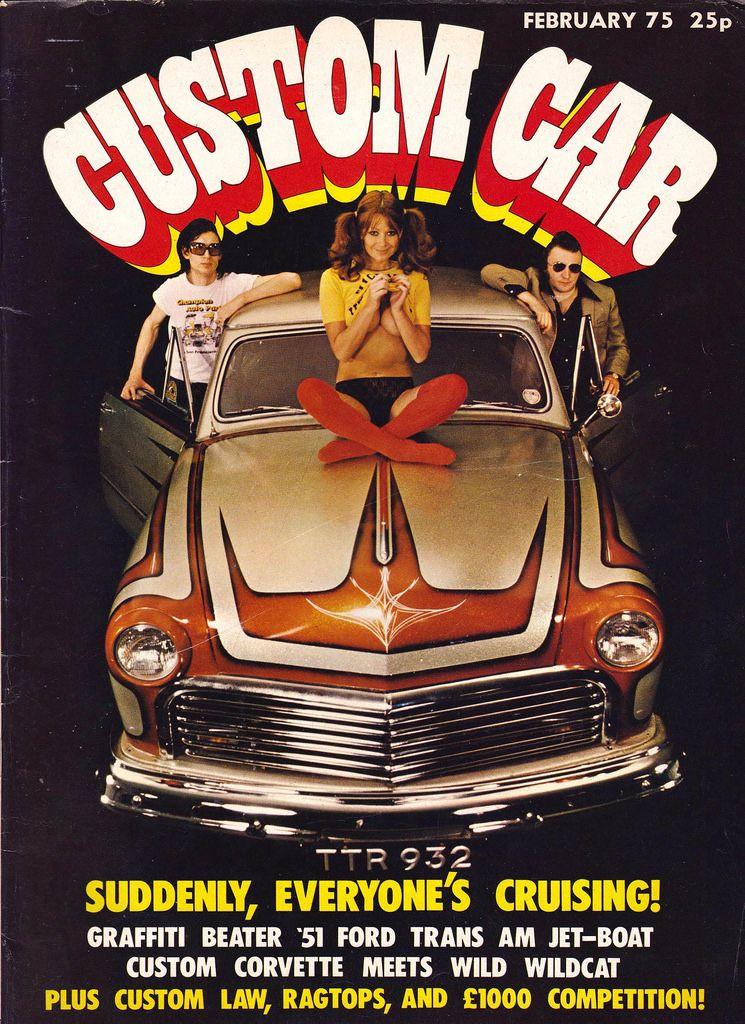 Vintage Wheels 26 1970s Custom Car Magazines Retrospace Kewl