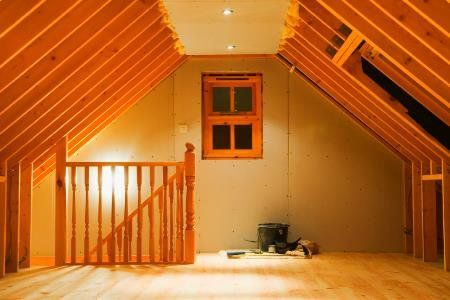 Finishing An Attic Heating And Cooling Considerations Doityourself Com Attic Renovation Attic Remodel Attic Rooms