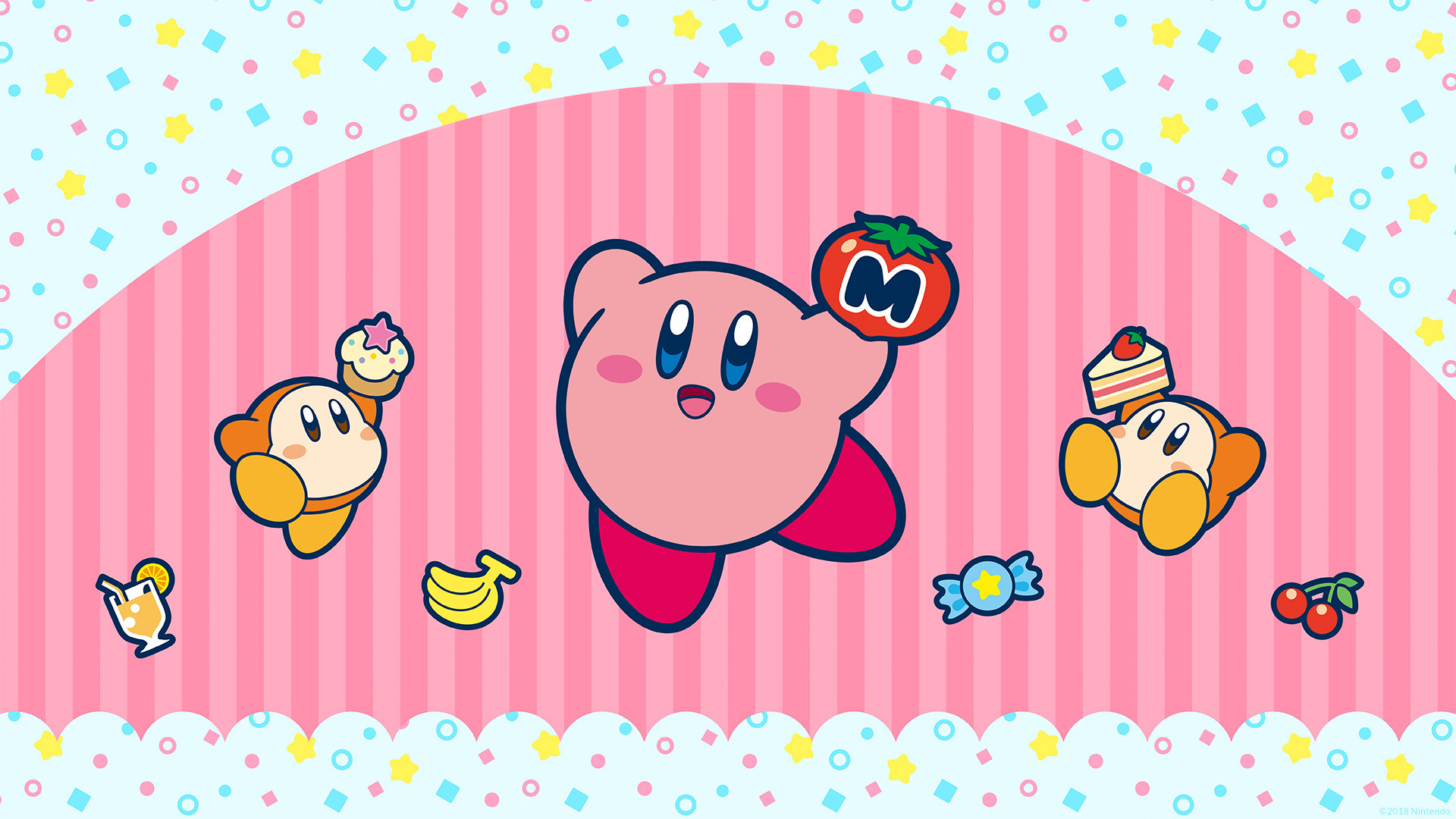 Kirby Wallpaper Google Search Kirby Happy Birthday Wallpaper