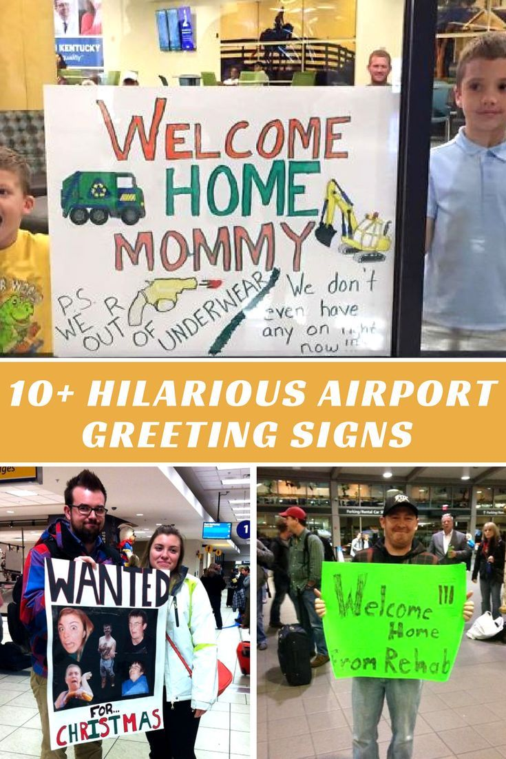 10 Hilarious Airport Greeting Signs That Are As Embarrassing As They Are Funny Airport Welcome Signs Greeting Sign Funny Airport