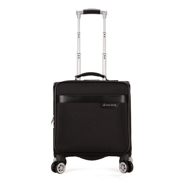 Multifunctional Suitcases On Wheels Large Capacity Trolley Travel Bag 16 Inch Boarding Box Computer Truck