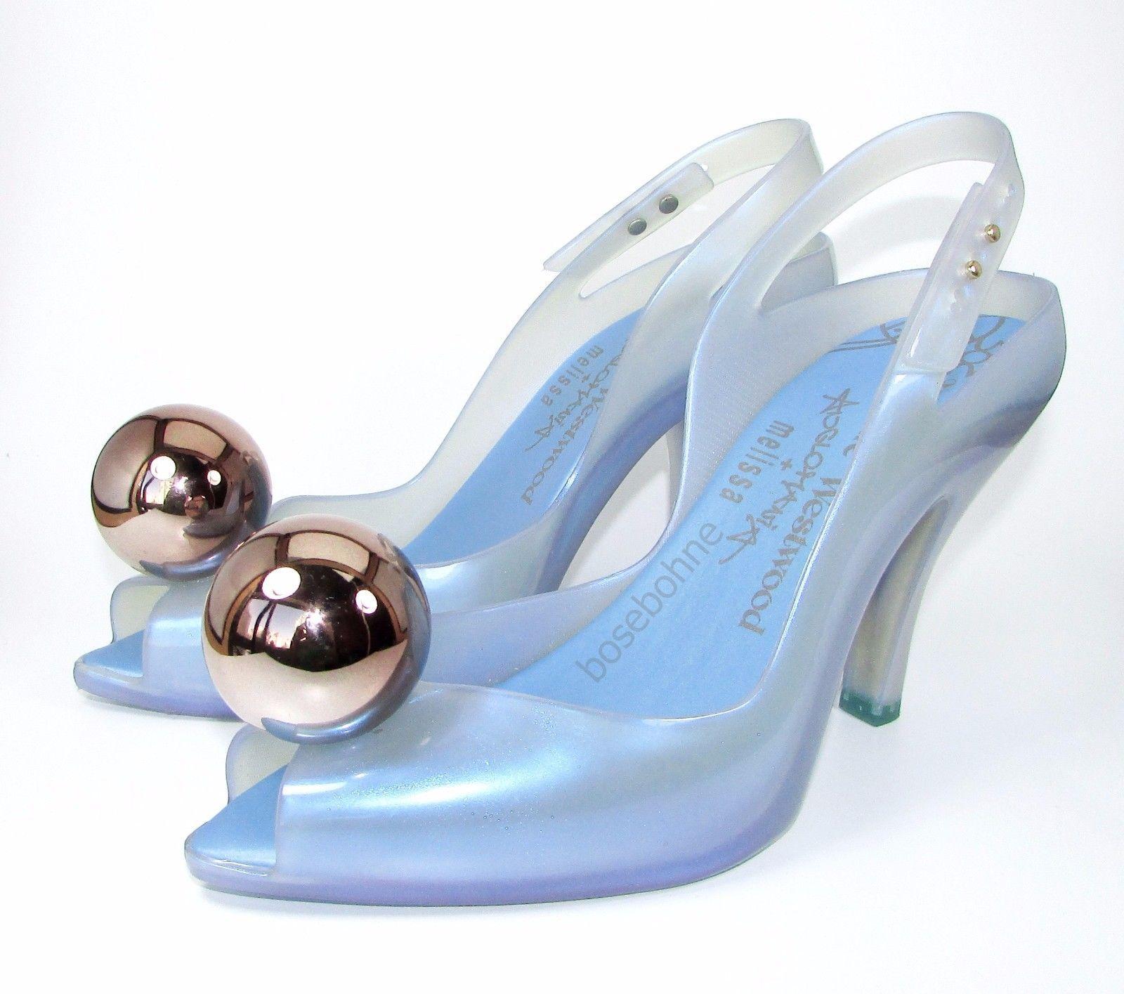 NIB Vivienne Westwood Anglomania + Melissa Lady Dragon Ball Globe US 7 EUR  38  4dc99215f8d0