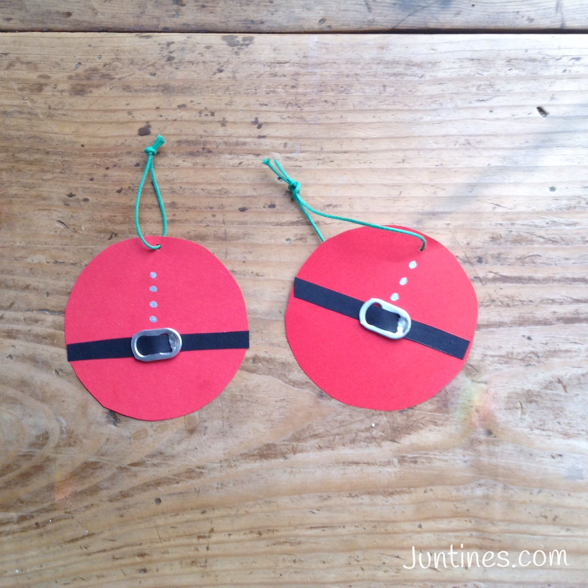 Bolas de papa noel preciosos adornos diy hechos en casa for Adornos para navidad hechos en casa