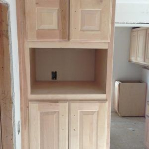 Beautiful Kitchen Microwave Storage Cabinet