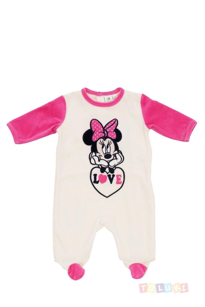pyjama b b fille minnie love cru enfant pyjama disney. Black Bedroom Furniture Sets. Home Design Ideas
