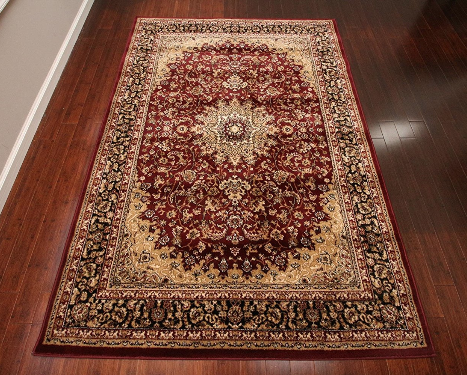 Feraghan Burgundy Red Traditional Isfahan Wool Persian Area Rugs Rug 4018 Rugs On Carpet Diy Carpet Rugs