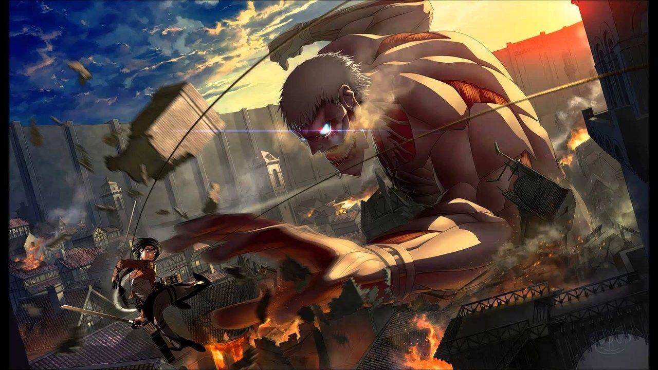 Attack On Titan A Dim Light Amid Despair Humanity S Comeback Part 1 Attack On Titan Season Attack On Titan Art Attack On Titan