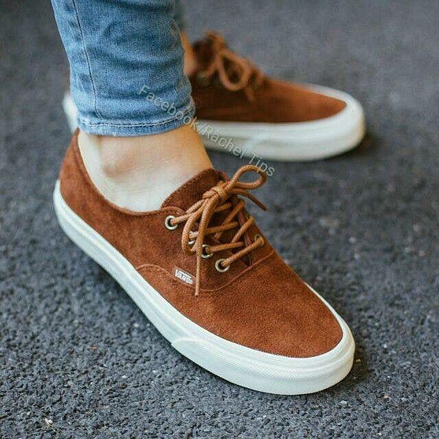 2vans mujer zapatillas marron