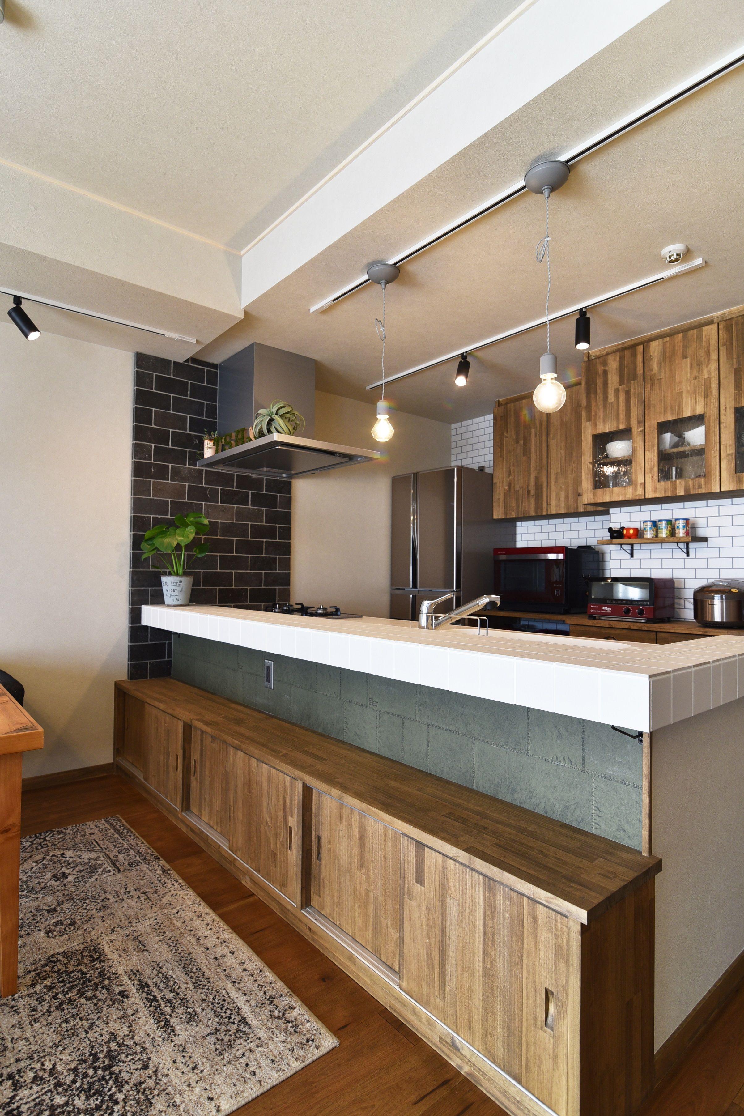 キッチン 収納 照明 インテリア実例 キッチン Kitchen キッチン