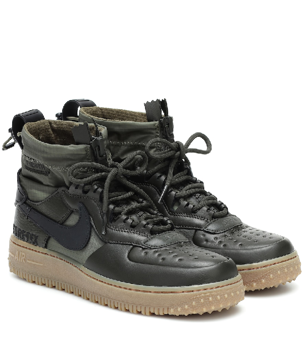 Air Force 1 Winter Goretex Ankle Boots In Green in 2020