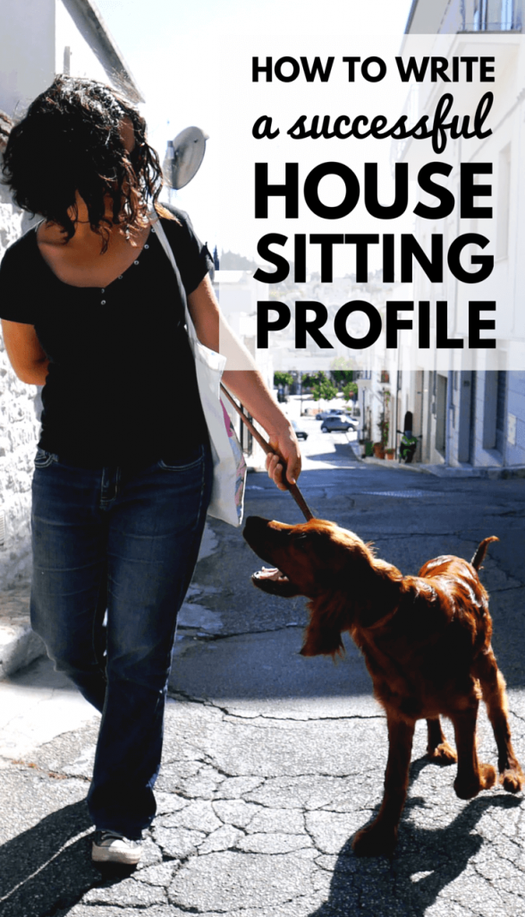 How To Write a Successful House Sitting Profile House