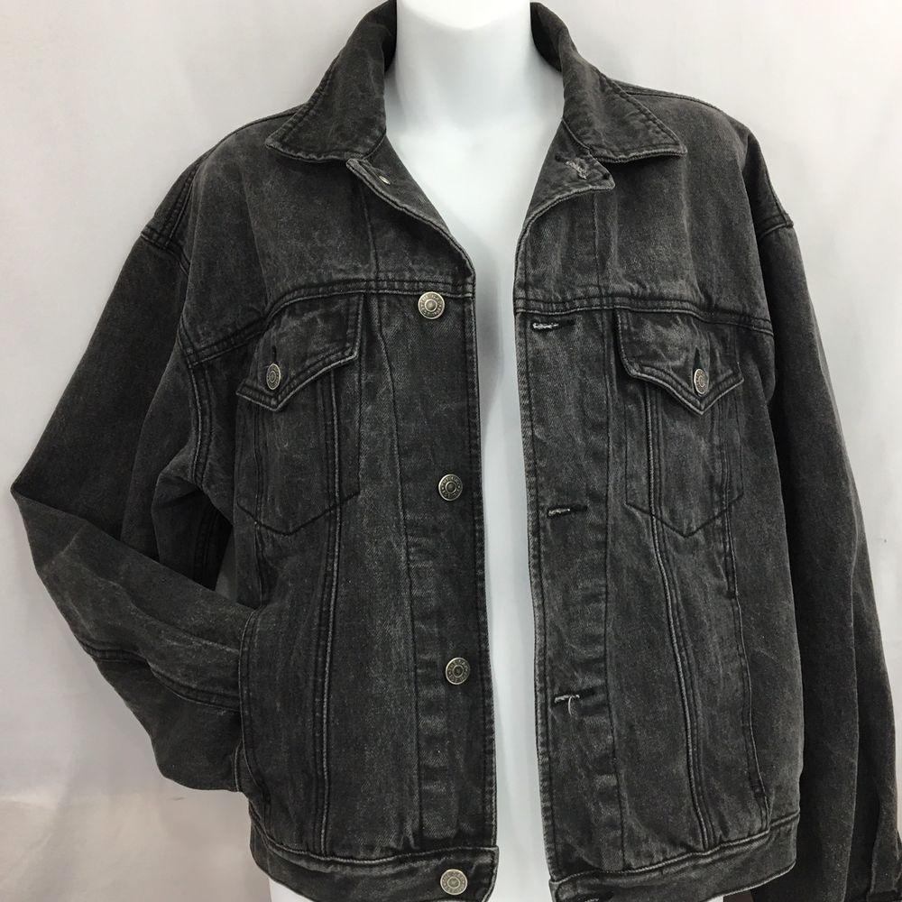 2019 best latest trends of 2019 release date Details about Gap Jean Jacket Medium Black Denim Women's 90s ...