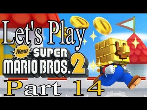 New Super Mario Bros 2 Walkthrough - Part 14 3DS W4-Castle Boss W5-1