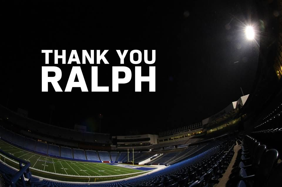 Thoughts and prayers go out to Ralph's family and the