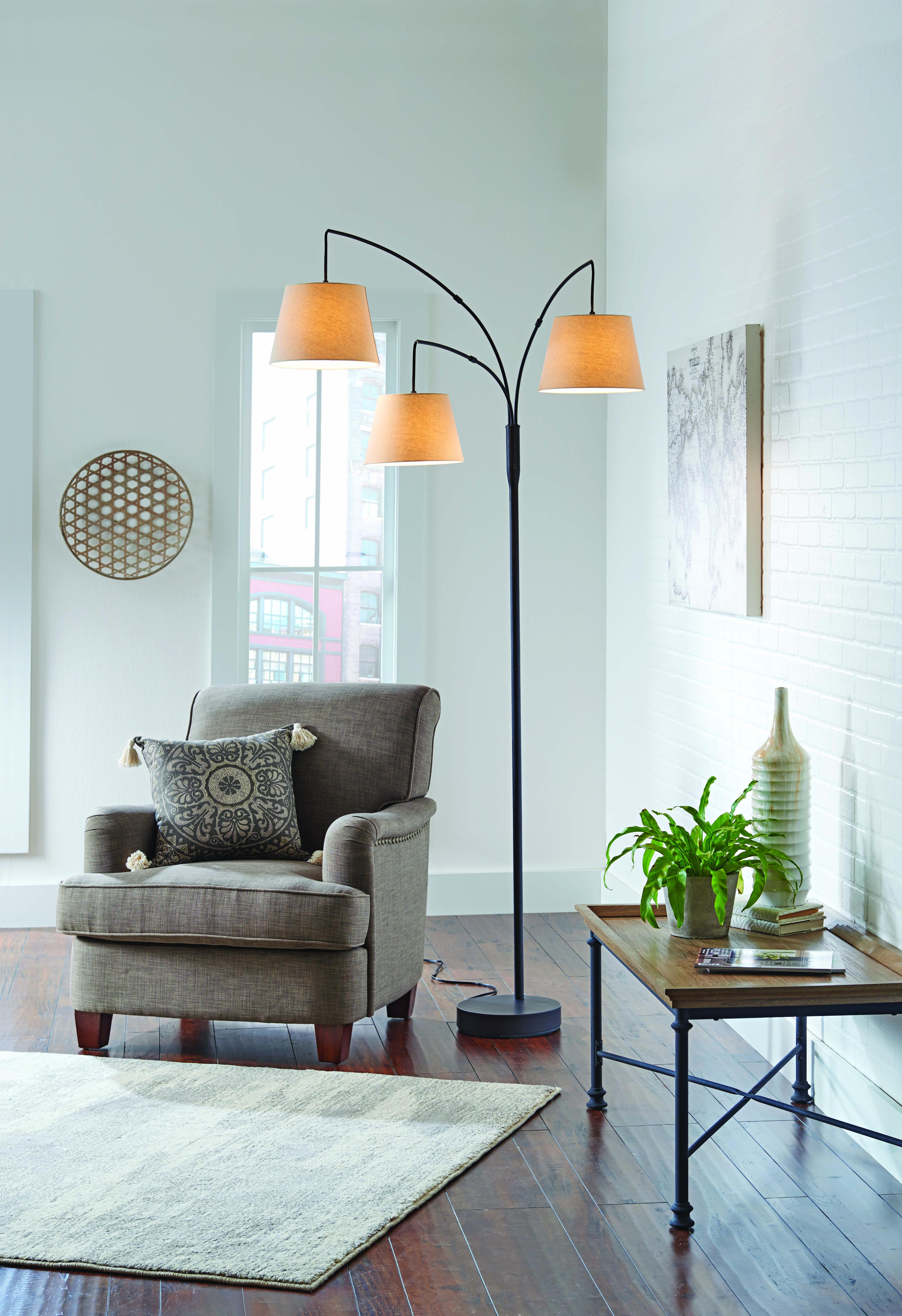 Home Arc floor lamps, Floor lamp with shelves, Floor lamp