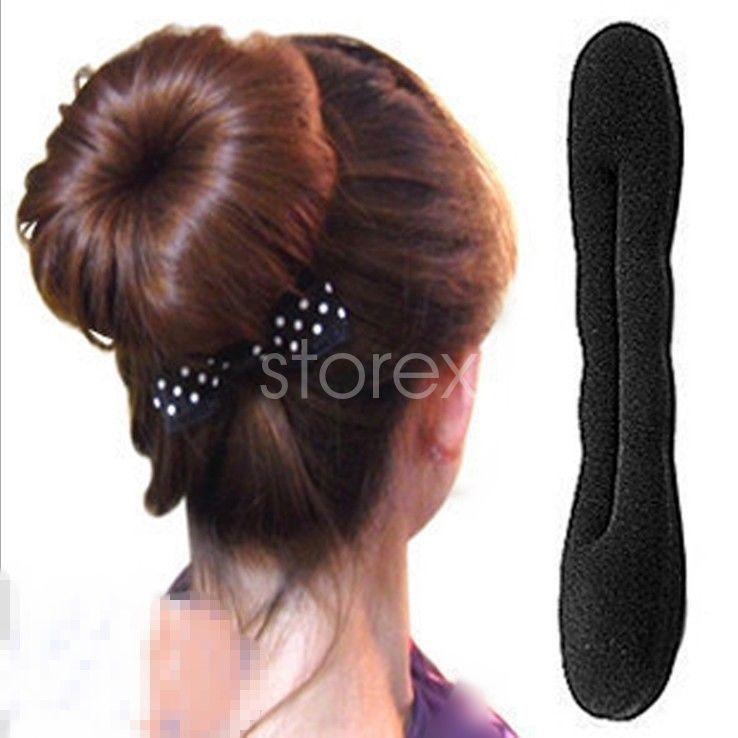 0 99 Fashion Women Girl Ball Bud Head Beauty Hair Styling Tools