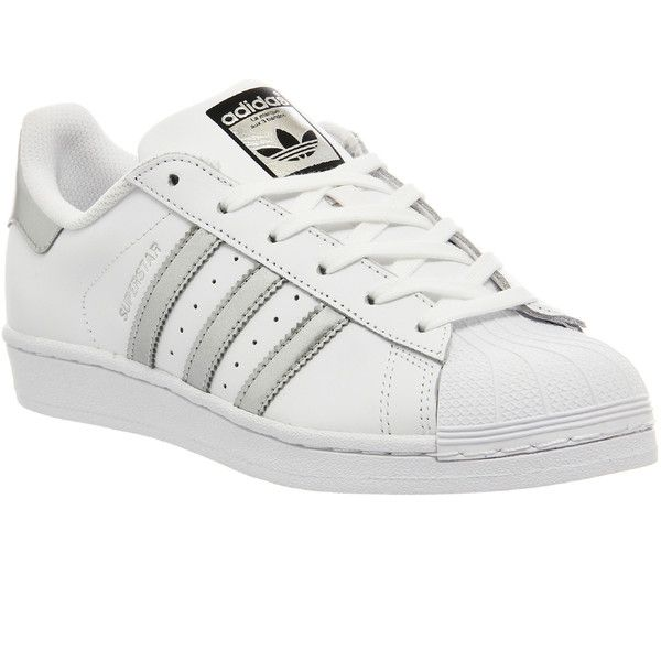 separation shoes 6e785 893b0 Adidas Superstar 1 (175 BGN) ❤ liked on Polyvore featuring ...