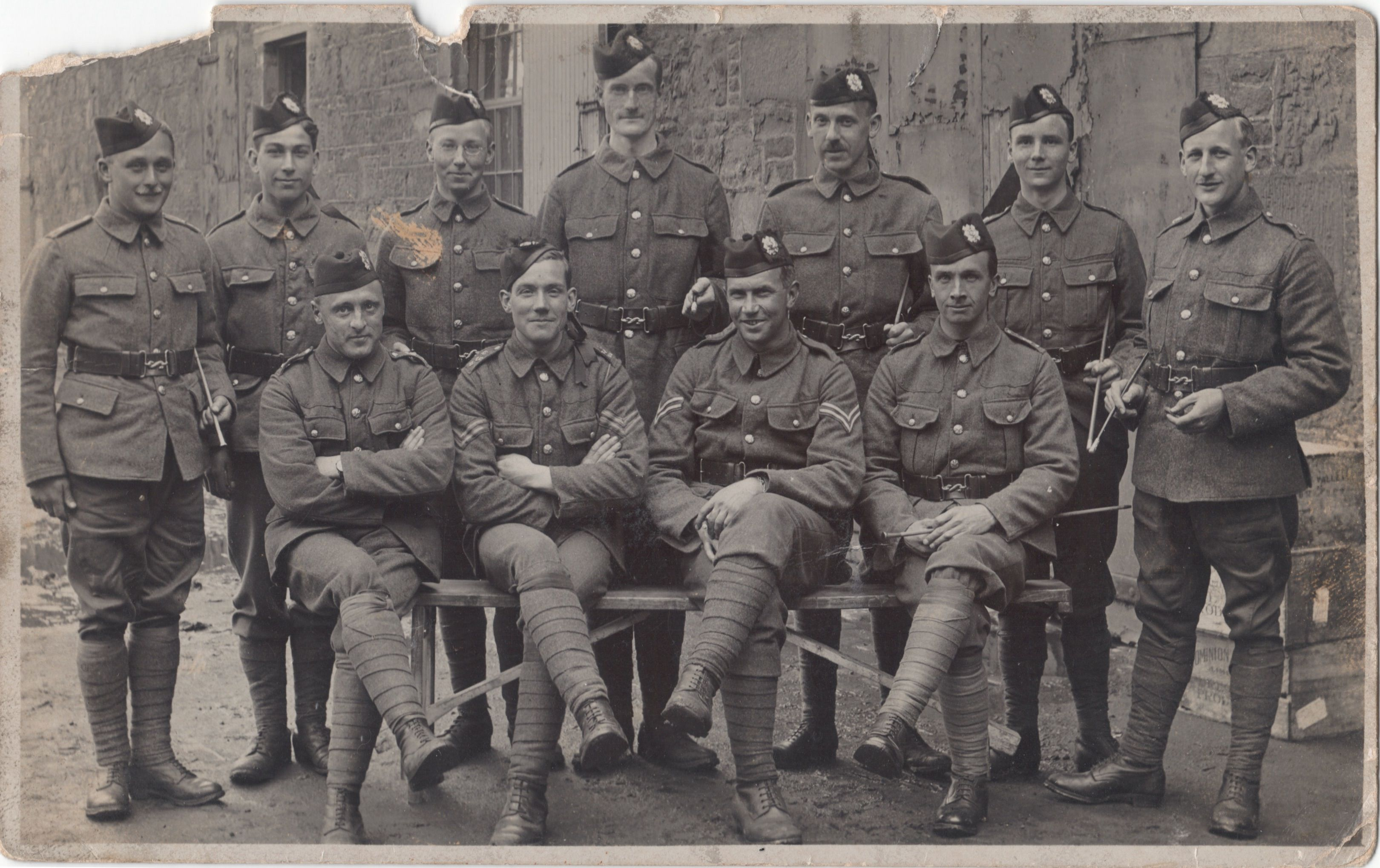 Robert Kirk Manson and the 2nd battalion (infantry), Royal Scots Fusiliers