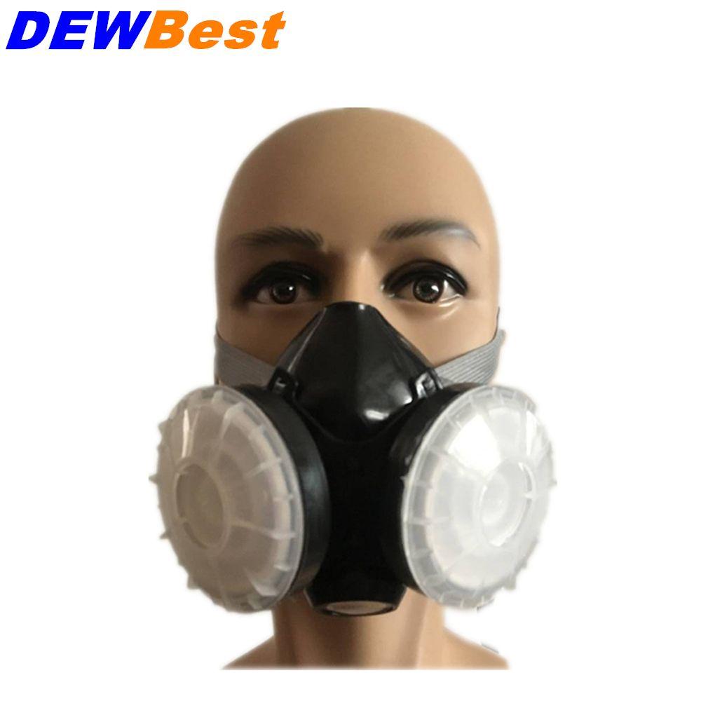 maschera antipolvere al carbone attivo