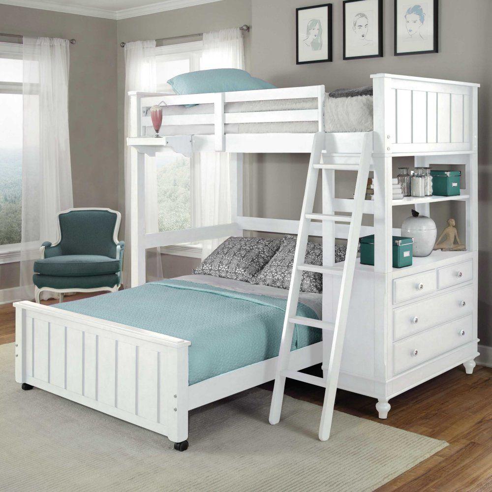 Loft bed ideas girls  Lake House Twin Loft Bed  Bunk Beds u Loft Beds at Hayneedle  Baby
