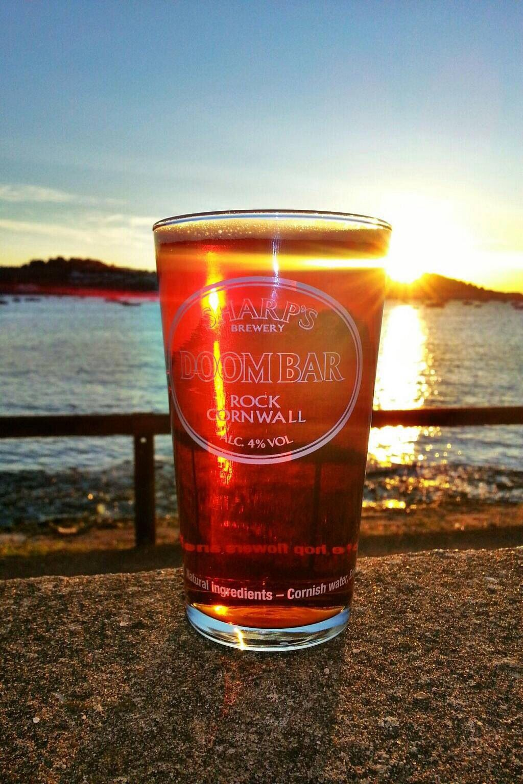 Have A Doombar Watching The Sunset Drink Menu Best Pubs Drinks