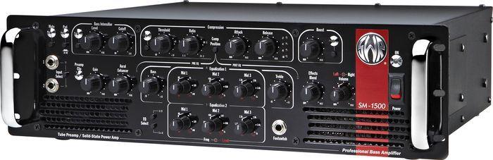 Swr Classic Series Sm1500 1500watt Bass Amp Head Bass Amps