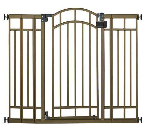 Summer Infant Multi-Use Deco Extra Tall Walk-Thru Gate, Bronze - http://www.rekomande.com/summer-infant-multi-use-deco-extra-tall-walk-thru-gate-bronze/