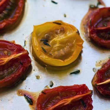 Ofengetrocknete Tomaten Rezept | Küchengötter