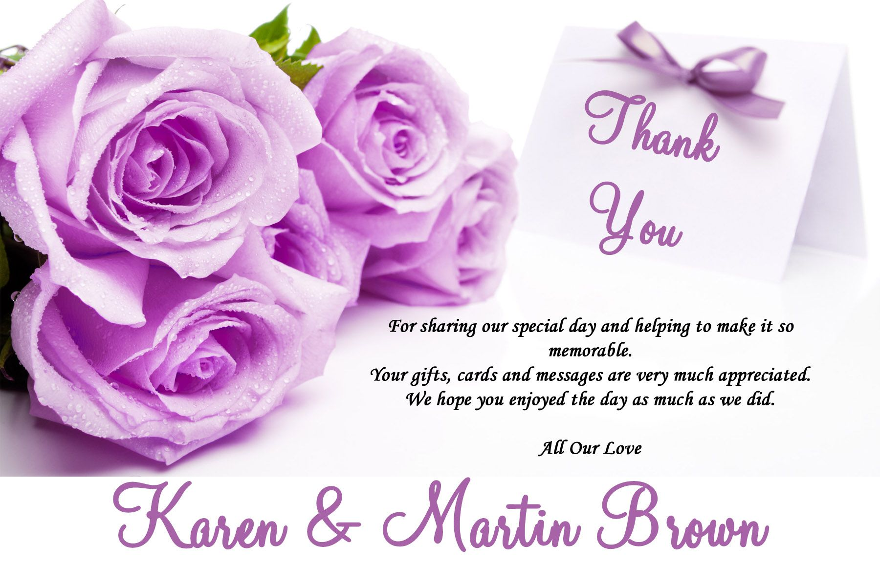 How to create Thank you card designs templates ideas – Thank You Card Template