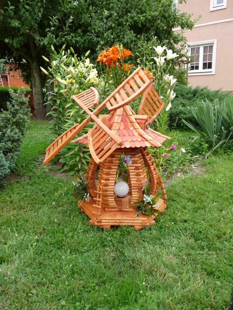 Wooden lawn decorations - Garden Windmills Windmills Garden Ornaments Handmade Wooden Products Garden