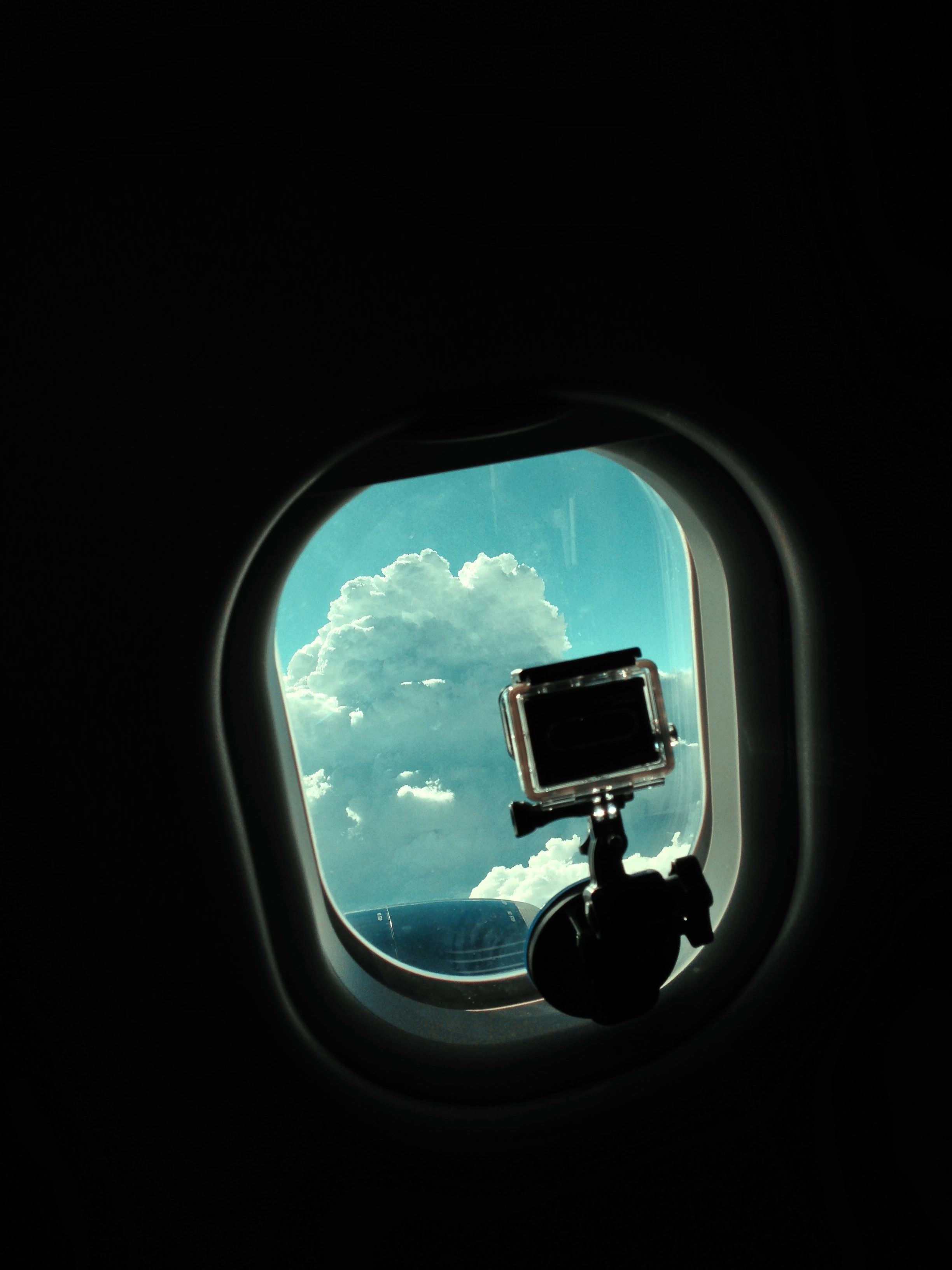 Shooting a Go Pro 3 time lapse out of the window on the way to France.