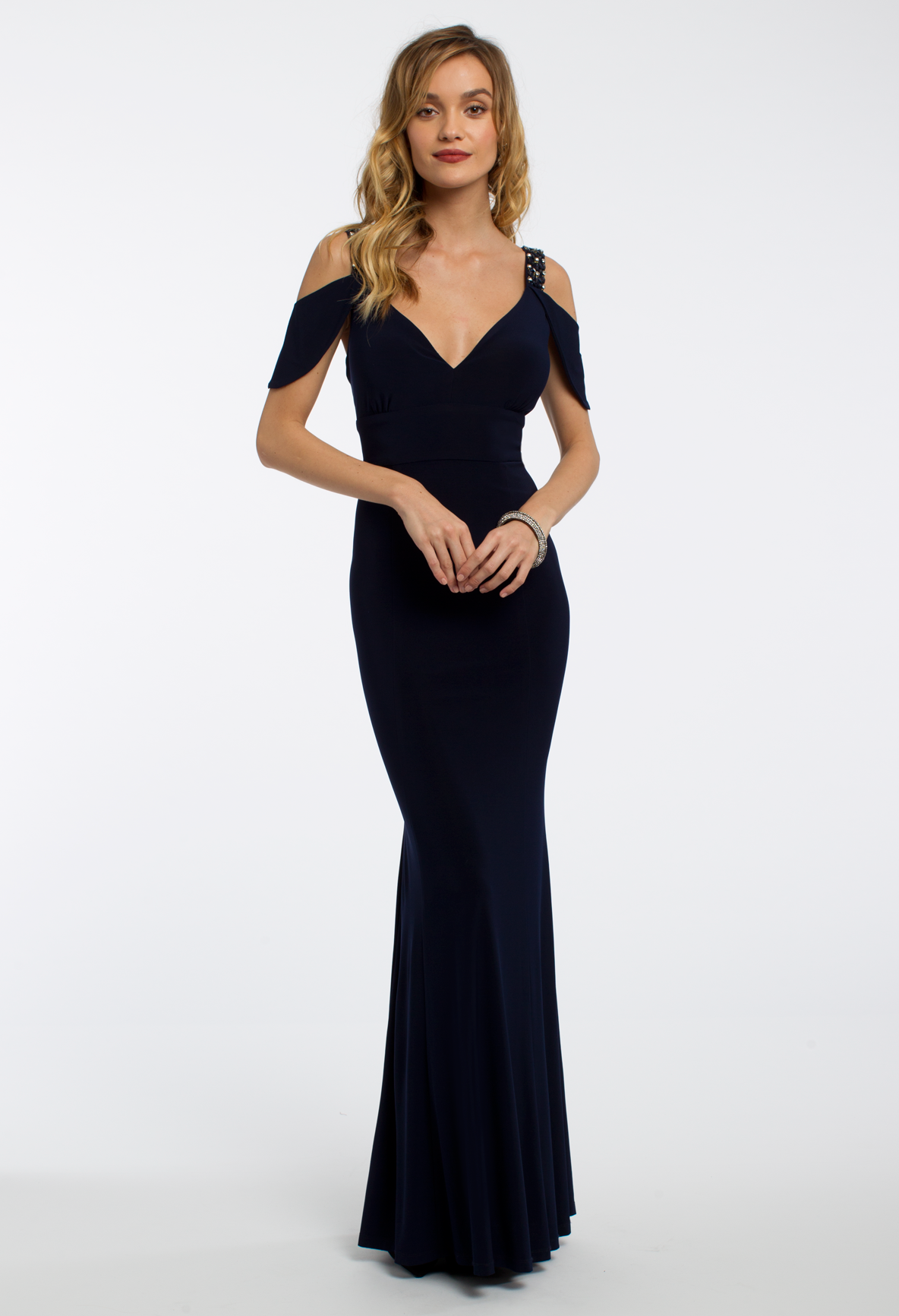 This elegant evening gown is the ultimate wow-factor! With its ...