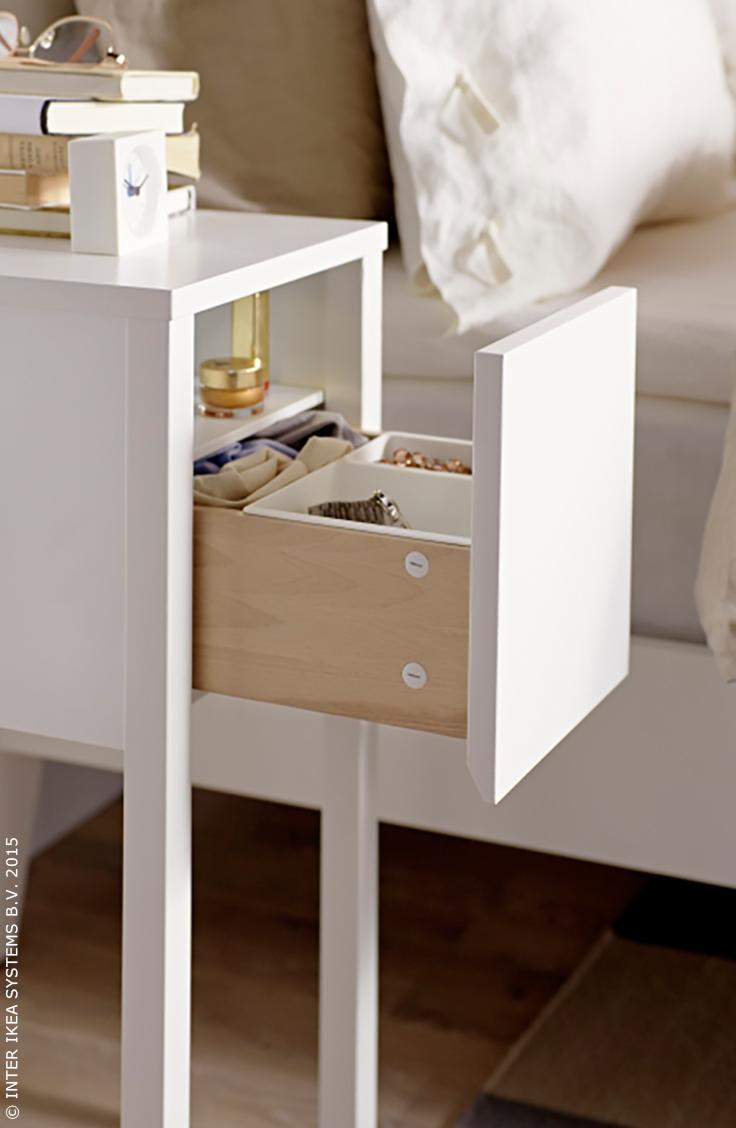 Meubles Luminaires Deco D Interieur Et Plus Encore Witte Nachtkastjes Nachtkastje Ikea