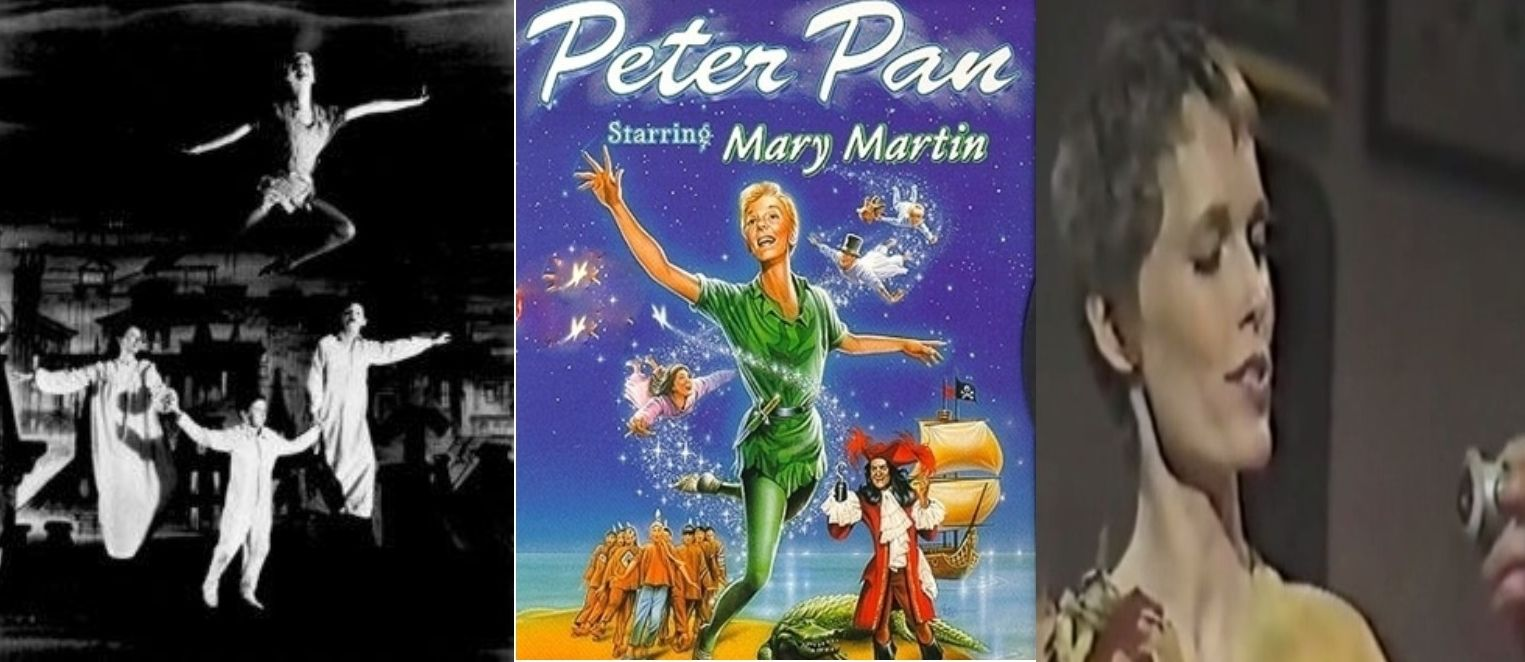 Peter Pan DVD TV SET Mary Martin Mia Farrow 195519601976