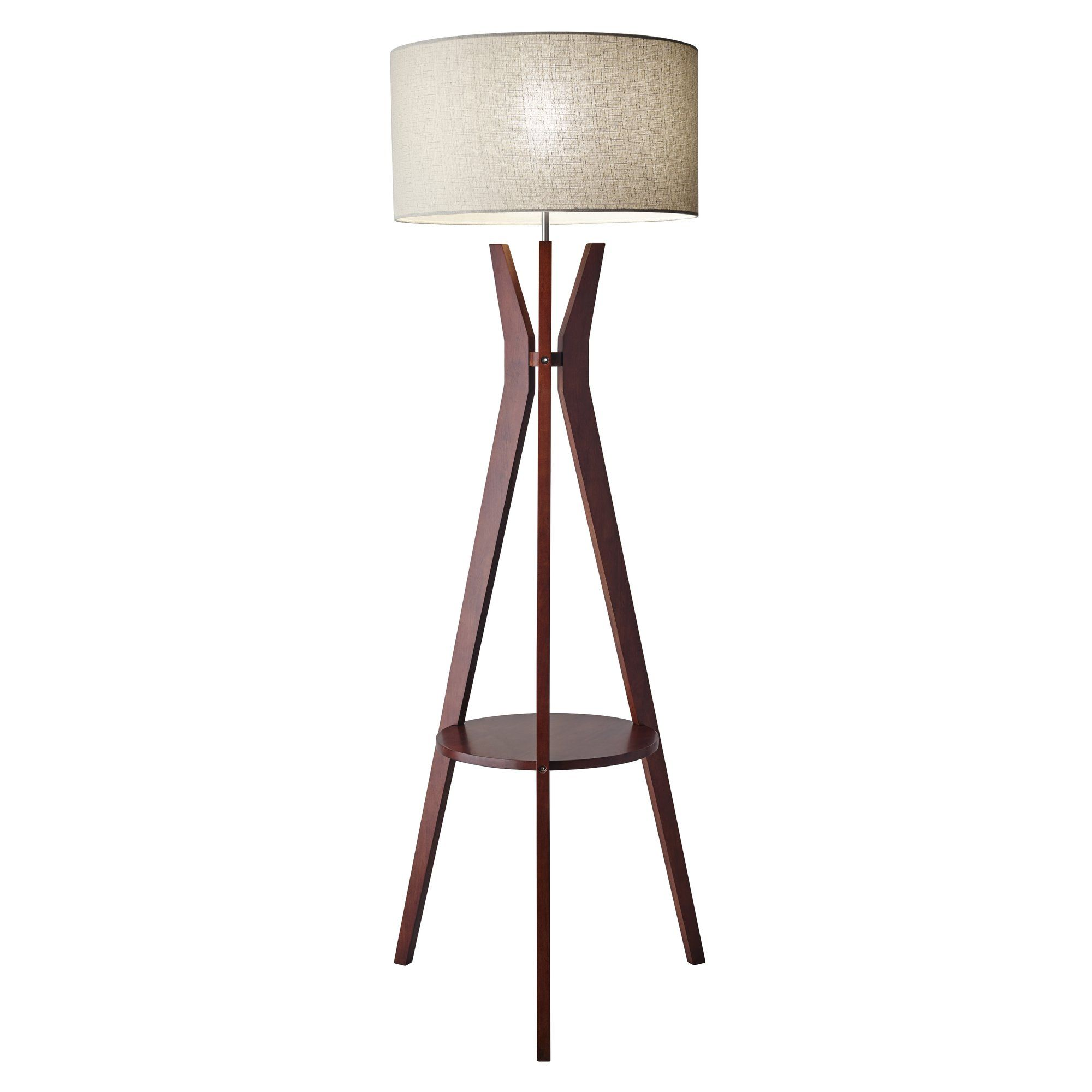 Bedford 595 tripod floor lamp bedford town fc tripod and adesso bedford shelf floor lamp bring functionality and mid mod style to your chair or sofa with the adesso bedford shelf floor lamp mozeypictures Gallery
