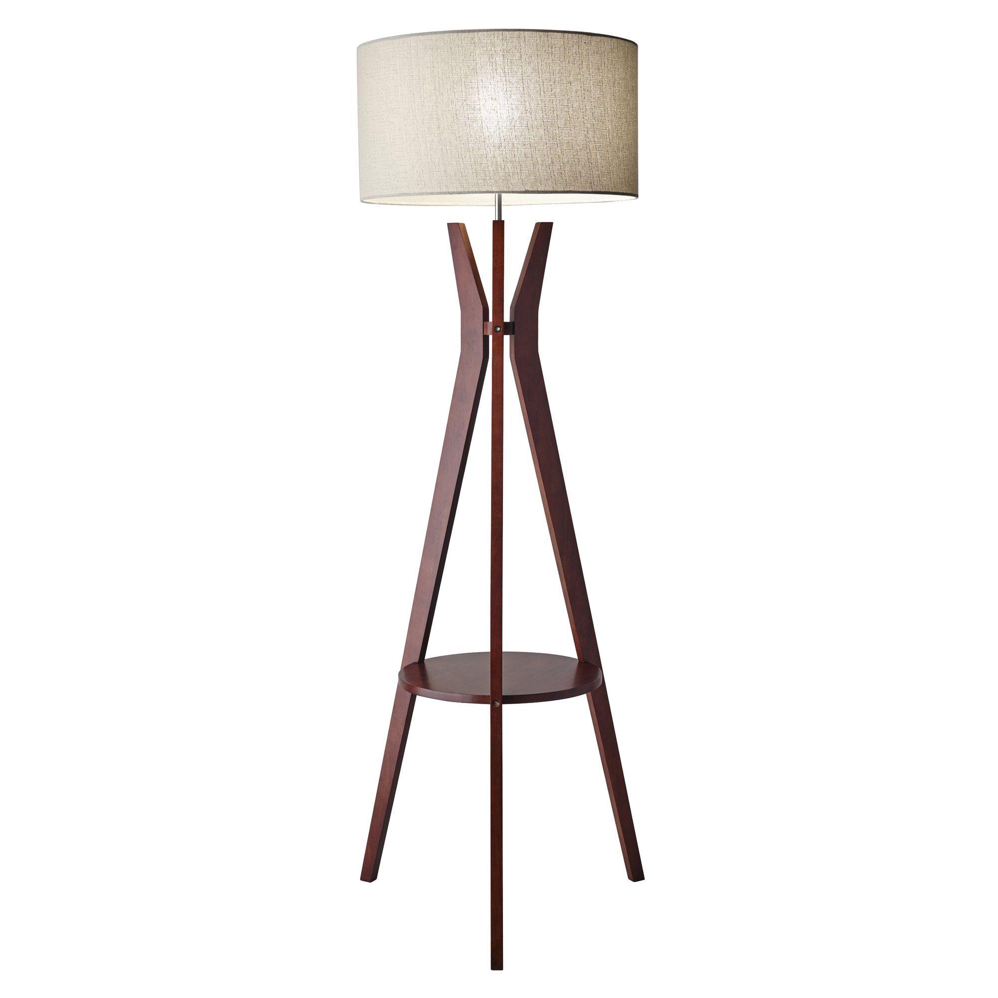 Threshold torchiere floor lamp textured bronze 65 - Bedford 59 5 Tripod Floor Lamp