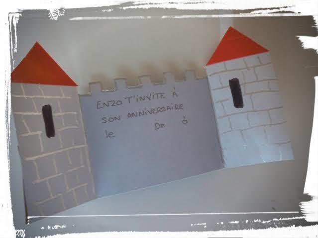 Creabull Loisirs Creatifs Activites Manuelles Et Tutos Pour Petits Anniversaire Chevalier Idee Deco Table Anniversaire Cartes Invitation Anniversaire Enfant