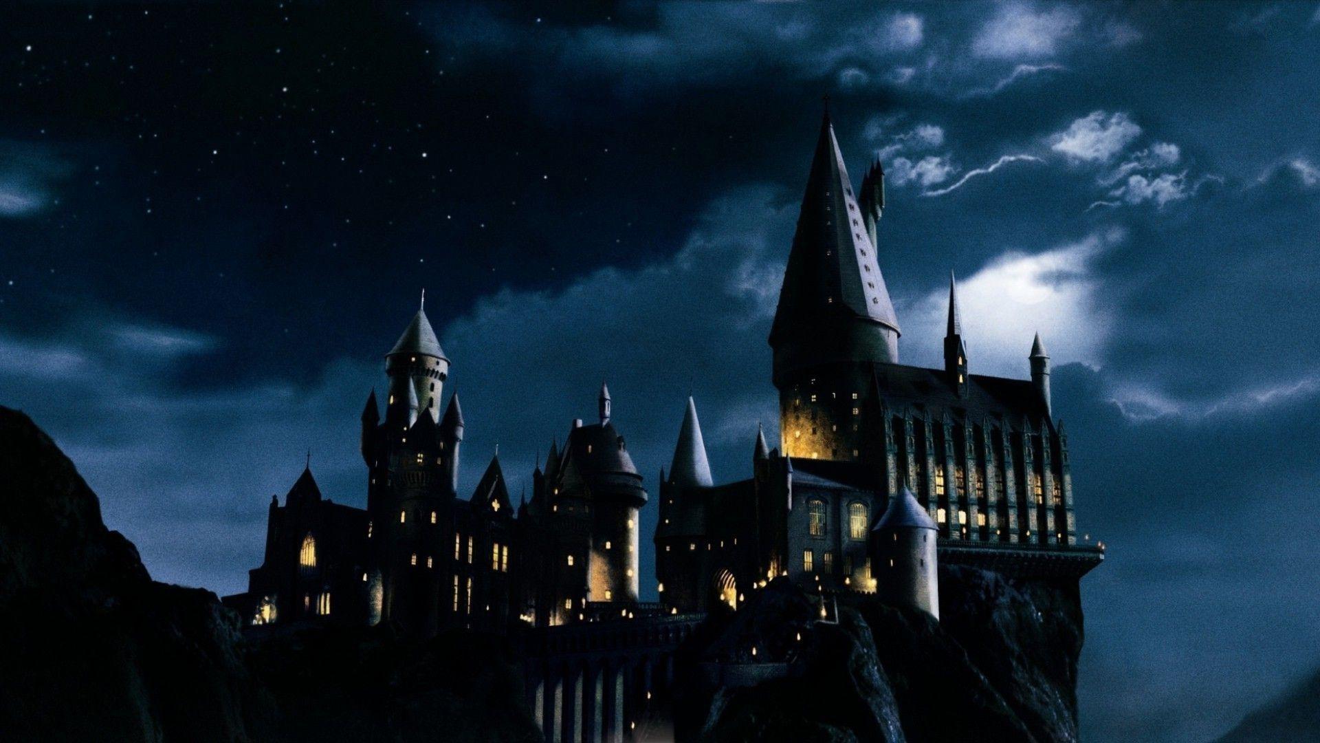 hogwarts castle desktop wallpaper