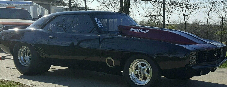 1969 Chevrolet Camaro Drag Car, Race Car | Race cars for sale ...