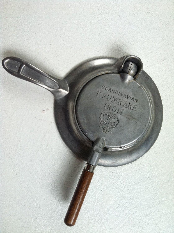 Krumkake Iron Scandinavian Vintage Nordic Ware Nordic Ware Scandinavian Iron