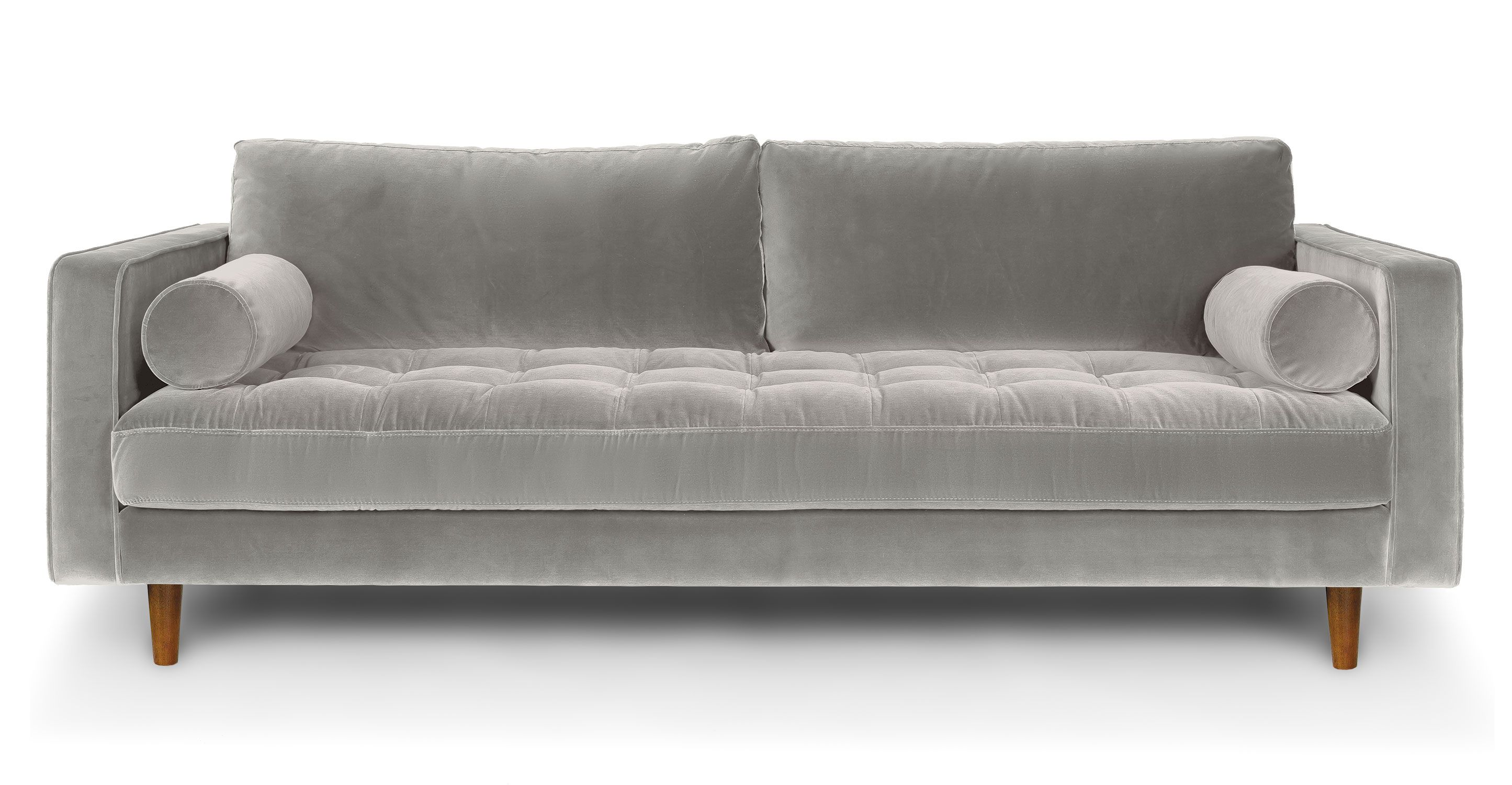 Sven Intuition Grey Sofa Gray Sofa Mid Century Modern Sofa Sofa