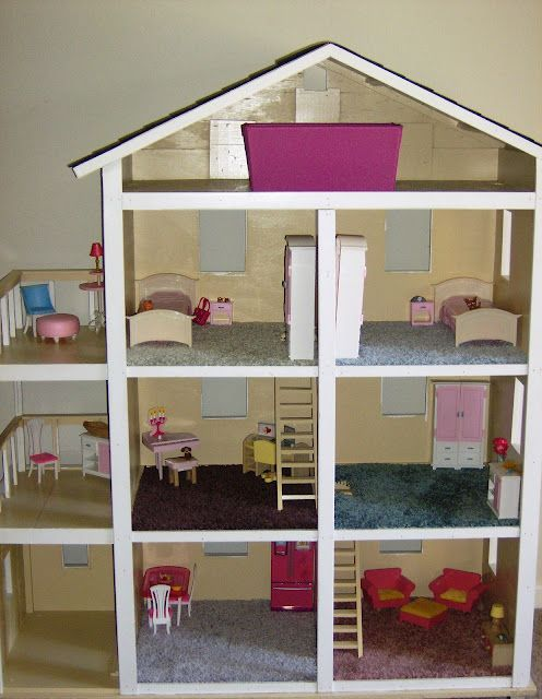 Diy Barbie House With Images Barbie House Furniture Diy