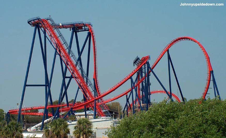 Sheikra In Busch Gardens Roller Coaster Pinterest Busch Gardens Tampa Gardens And Busch