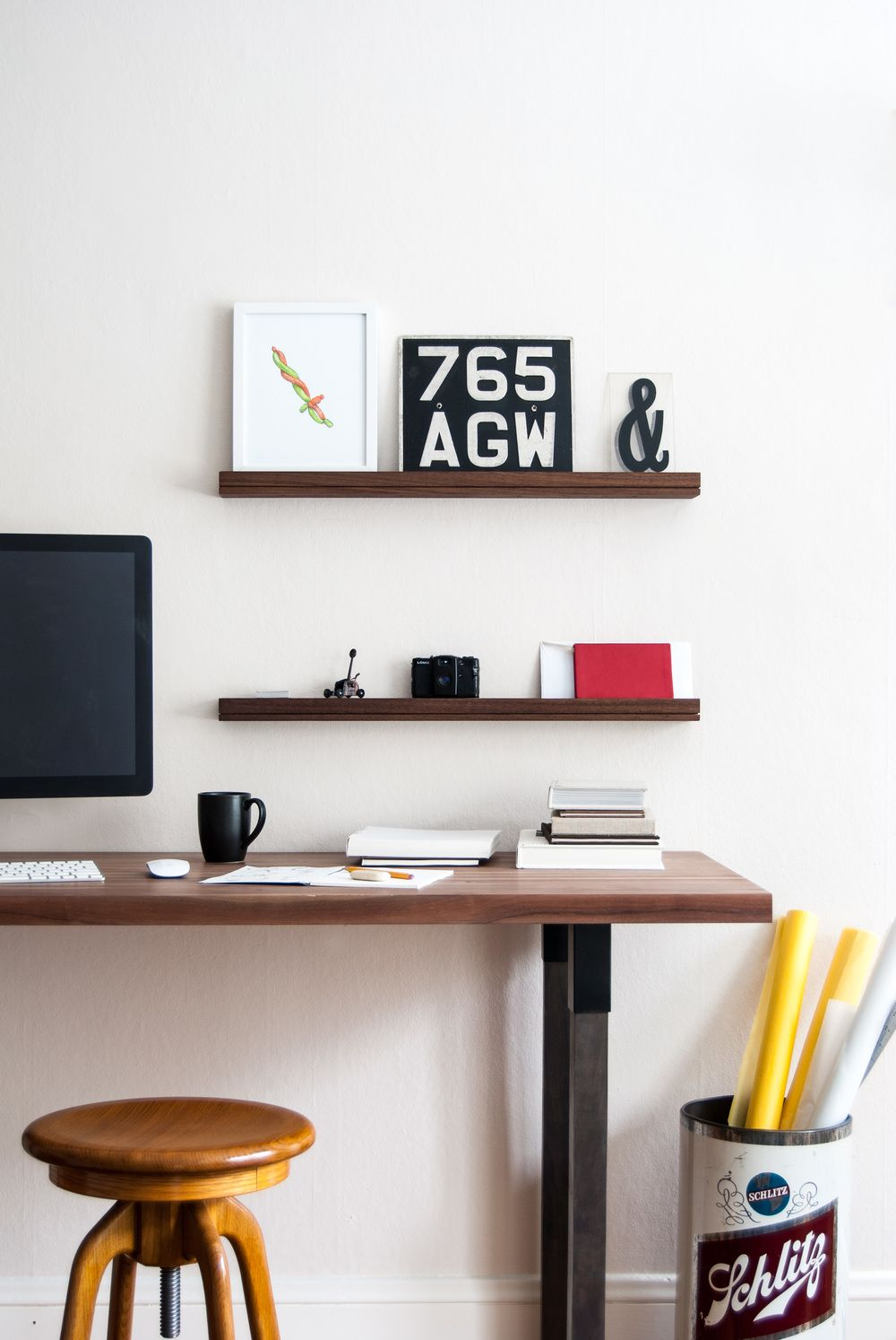 SINGULAR wall console is a perfect way to simplify and organize a ...