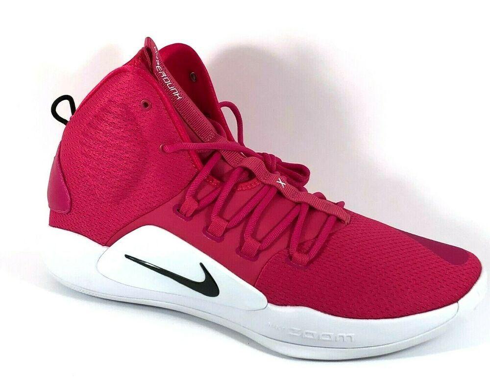 Nike Hyperdunk X Mens Basketball Shoes 15 Vivid Pink At3866 609 Bca Nike Basketballshoes Basketball Shoes Mens Basketball Nike Basketball