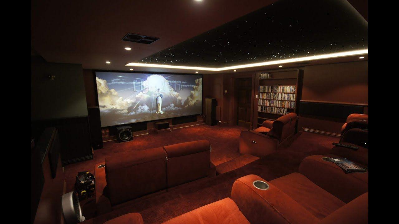 4k Home Cinema Room Time Lapse Sala Comedor Y Cocina Casas