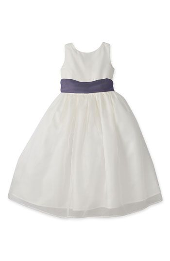 1d009a2ce6b7 Us Angels Ivory Organza Dress with Sash (Infant, Toddler, Little Girls &  Big Girls) available at #Nordstrom